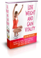 Lose Weight and Gain Vitality book cover