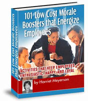 101 Low Cost Morale Boosters that Energize Employees